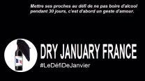 DRY january le défi de janvier