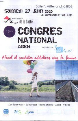 15ème Congrès National de la Fédération:Pré-programme