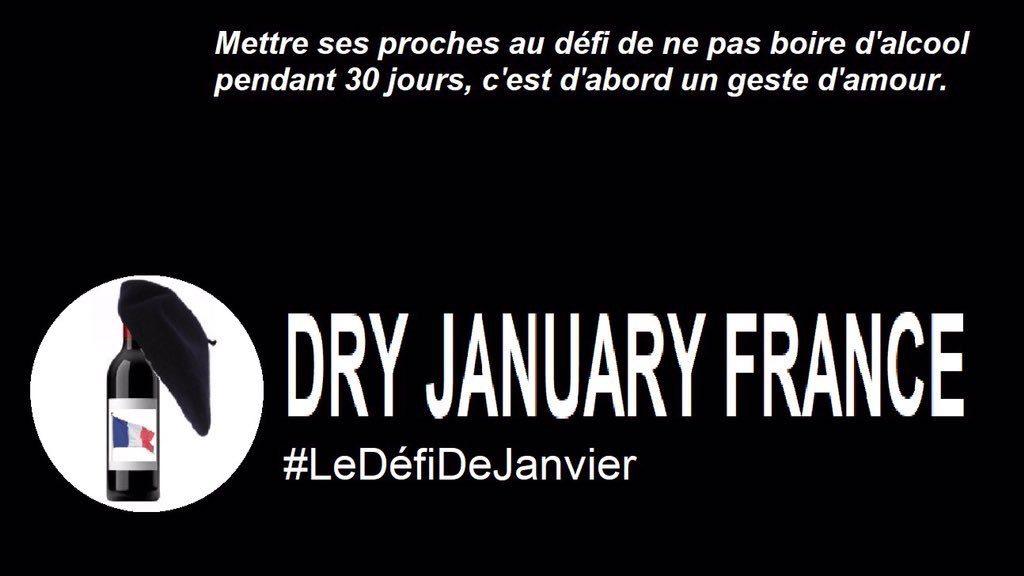 DRY January: Le défi de janvier